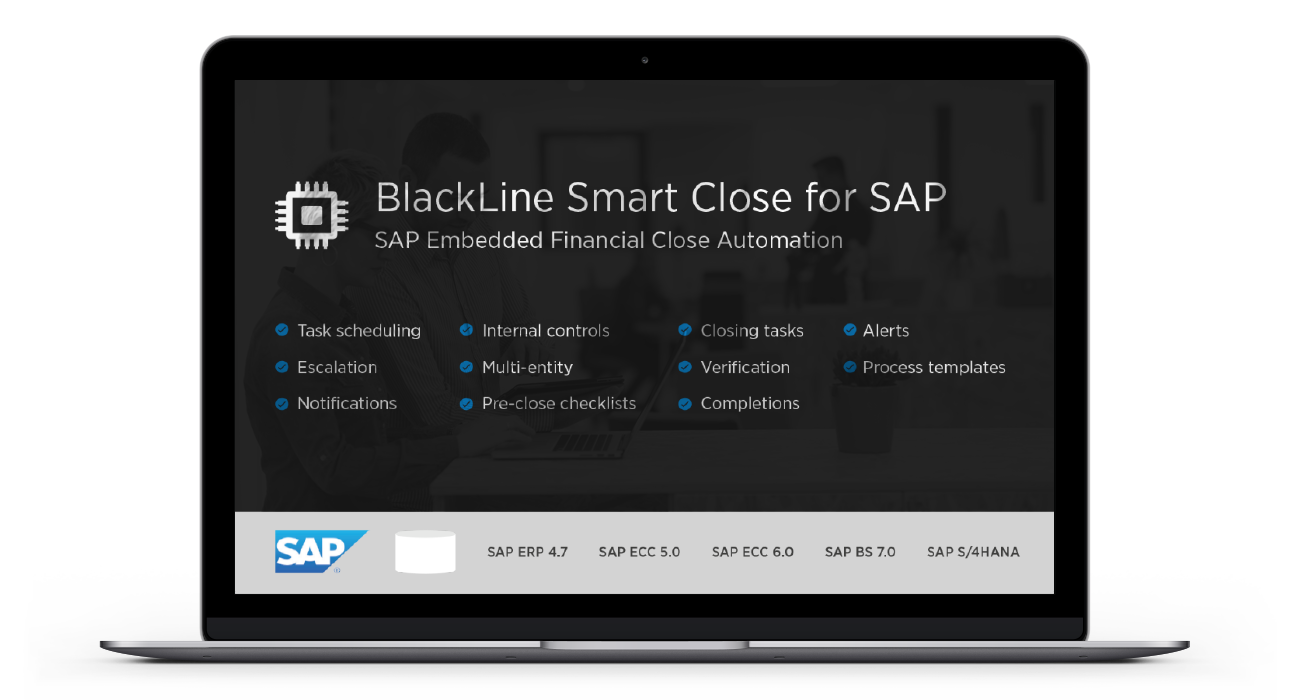 BlackLine Smart Close for SAP Image