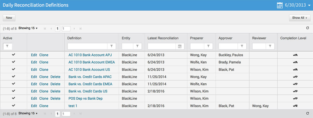 Daily Transaction Matching & Reconciliation Software | BlackLine