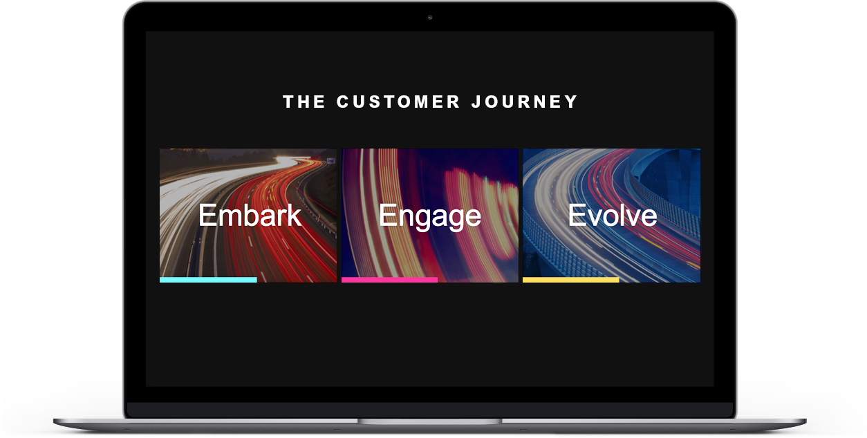 Services Customer Journey Laptop